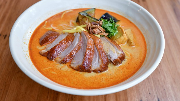 Better than the original? Duck laksa at Laksa King Kitchen.