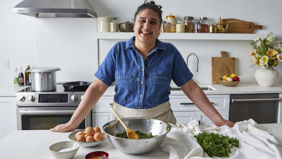 Samin Nosrat, the author of 'Salt Fat Acid Heat' and star of the related Netflix show, prepares a Persian version of ...