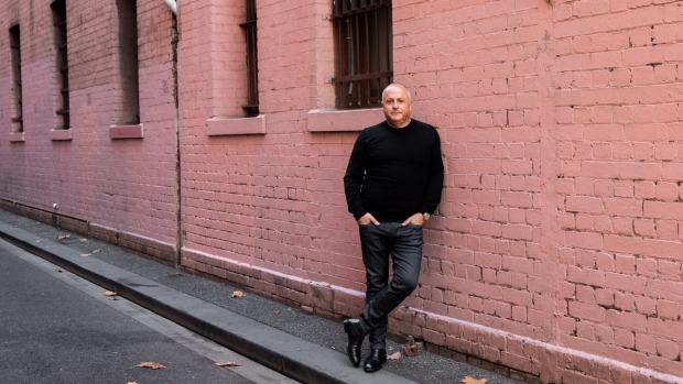 Chris Lucas at the site of Batard, in Bourke Street.