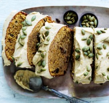 ***EMBARGOED FOR GOOD WEEKEND, JUNE 15/19 ISSUE*** Helen Goh recipe : Pumpkin Spice Loaf with Brown sugar ...