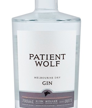 Patient Wolf's signature gin, the Melbourne Dry.