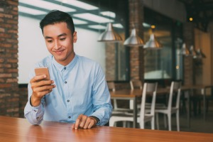 Using your phone while dining in a restaurant is rude  – and annoying.