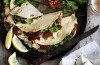 Neil Perry's piadine with 'nduja, stracchino cheese and slow-roasted tomatoes <a ...