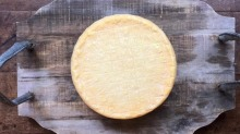New product: The Pines alpine-style cheese.