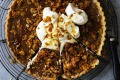 Helen Goh's next-level custard tart with crunchy cornflake topping.