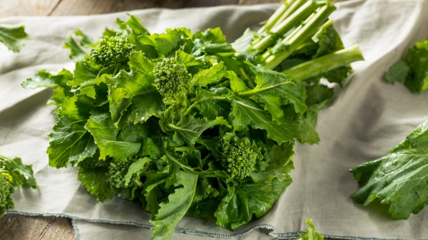 Rapini, or broccoli rabe, may be tricky to find but worth the hunt.