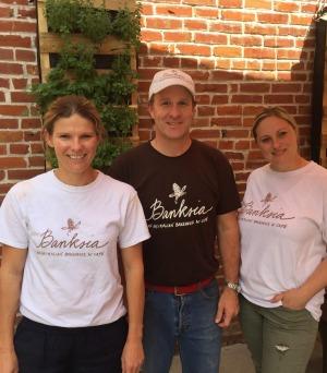 The team at Australian cafe Banksia, in Missouri.