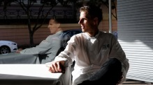 Chef Karl Firla in Newtown's Oscillate Wildly, which he is permanently closing after 10 years as owner-operator.