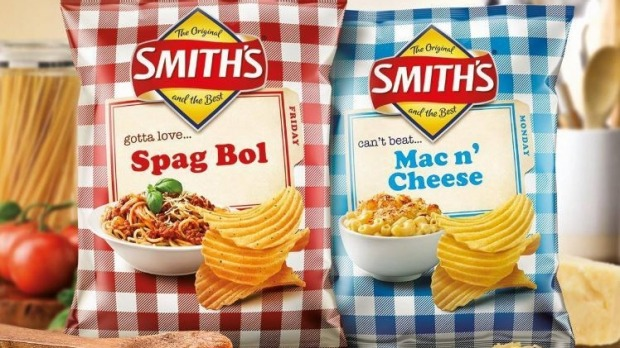 The nostalgia food marketing trend has extended to Smith's chips.