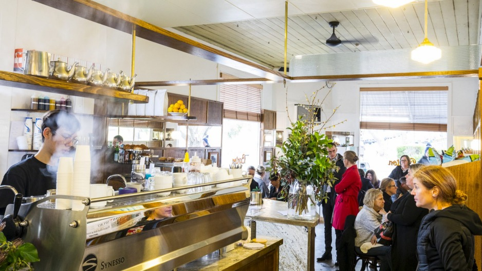 Old-school: Inside Barton Milk Bar in Hawthorn.