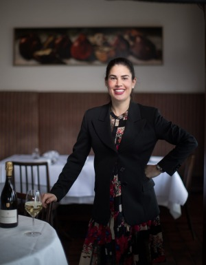 Sommelier Kara Maisano hopes guests won't feel rushed when Masani Italian Dining reopens in June.