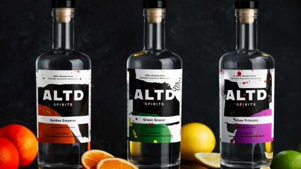 All-Australian distilled ALTD Spirits come in three expressions.