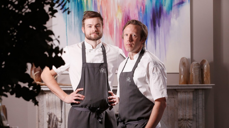 Chefs Thomas Woods (left) and Hayden McFarland have closed their restaurant Woodland House.