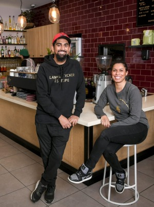 Lankan Tucker owners Hiran Kroon and Nerissa Jayasingha are determined to make Sri Lankan food cool.