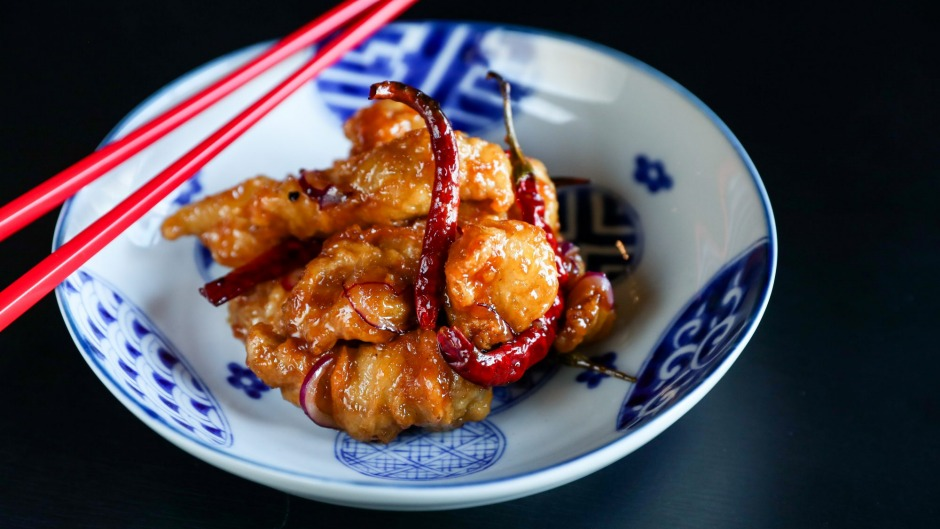 Tempura yuzu chicken is like sweet-and-sour chicken nuggets for grown-ups.