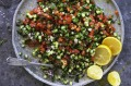 Arabic chopped salad.