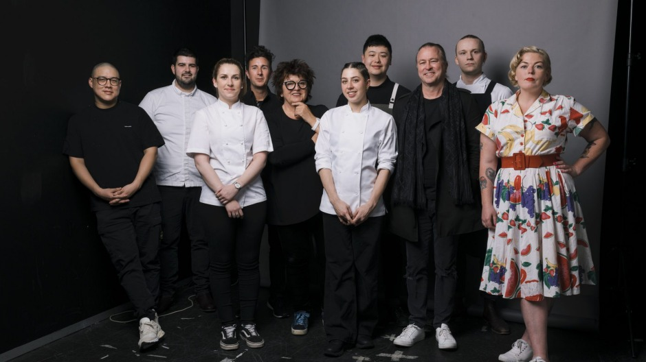 Finalists and judges of the Good Food Guide 2019 Josephine Pignolet Young Chef of the Year award (from left): Dan Hong, ...