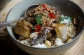Beef cheek massaman curry.