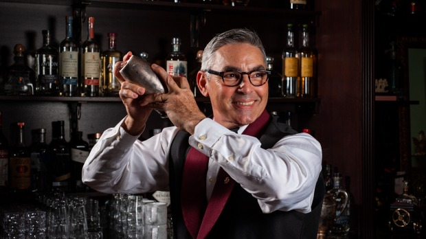 Cuban-born bartender Julio Cabrera, co-owner of new Miami Cuban restaurant and bar Cafe La Trova.