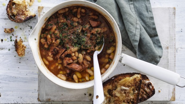 Make your own baked beans, then you can control how much salt goes into them.