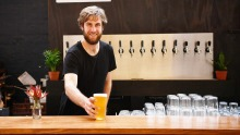 Nic Sandery from Molly Rose in Collingwood, one of five new brew bars on the horizon.