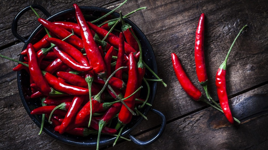 Researchers from South Australia  explore the link between chilli intake and cognitive function.