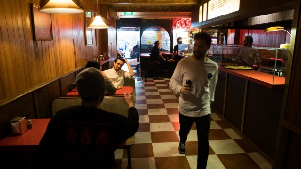 New spin: Leo's by the Slice bears traces of its Ramblr roots.