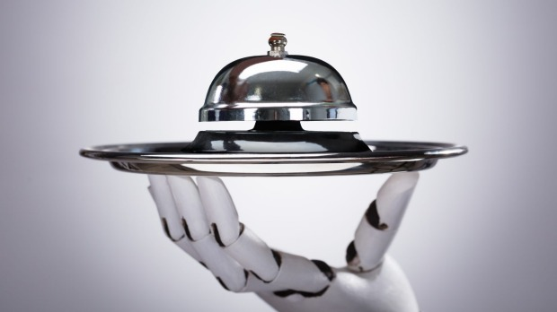 Food service workers are among the most at risk of losing their jobs to robots, a recent report says.