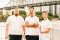 Chefs Patrick Friesen, David Finlayson and Alanna Sapwell have all moved from southern cities to Brisbane.