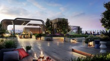 A roof garden is included in the $83-million redevelopment of the Kogarah RSL.