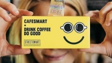 CafeSmart raises funds to help the homeless.