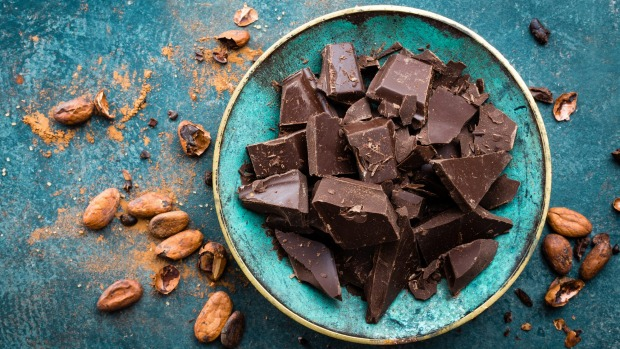Cocoa is rich in flavanols but needs lots of sugar and fat to make chocolate.
