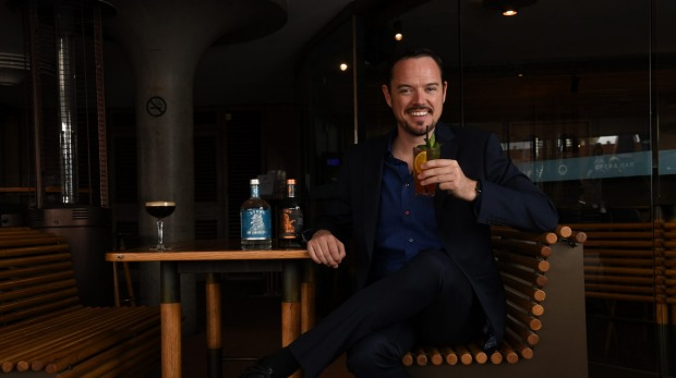 Mark Livings, co-founder of boutique distillery Lyre's.