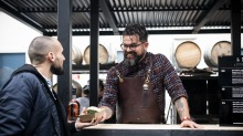 Alejandro Saravia serves up something delicious Farmer's Daughters x Starward Whisky Graze + Grains, happening at ...