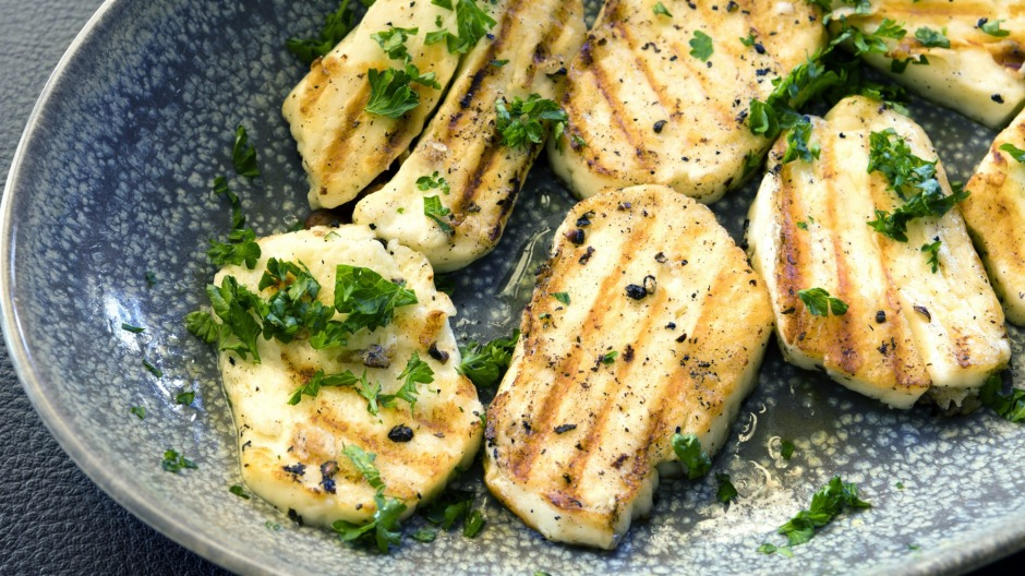 Haloumi ... everyone's favourite squeaky cheese.