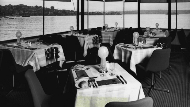 Never eat in a restaurant that revolves or floats.