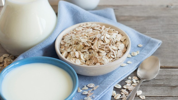 Oat milk is known for its creamy and neutral flavour.
