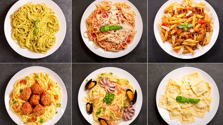 If the pasta options are a choose-your-own-adventure, the restaurant is unlikely to be operated by an Italian.