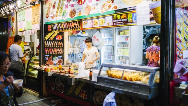 """""""The brighter the fluorescent lights on the hole-in-the-wall-food stand, the better the food."""""""