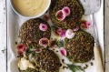 Danielle Alvarez gives stuffed mushrooms a modern, Middle Eastern makeover.