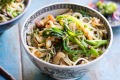 Singapore noodles: Have the separate ingredients to hand so you can throw together this tasty stir-fry in just a few minutes.