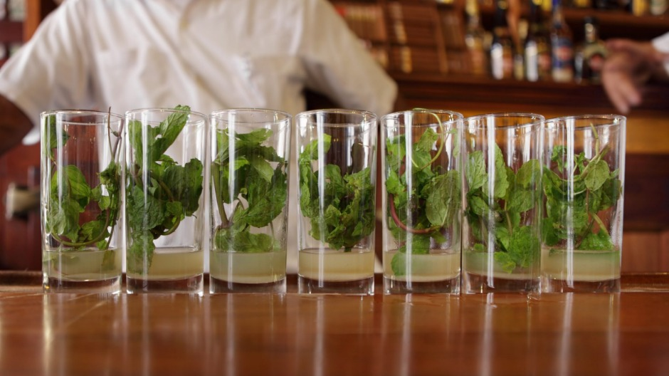 With mojitos costing about $5, it's always happy hour in Havana.