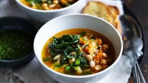 Turn minestrone soup into 'beanastrone'.