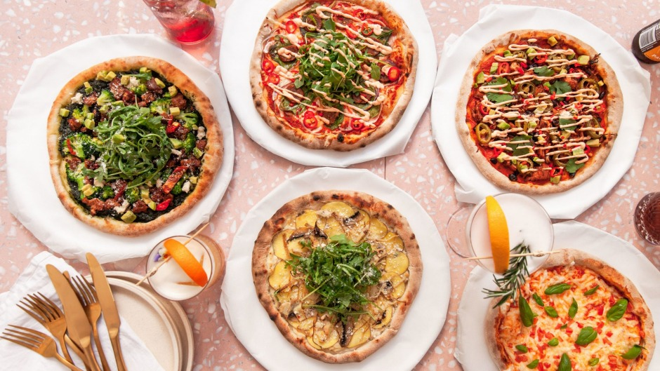 Eden's pizzas are entirely plant-based.