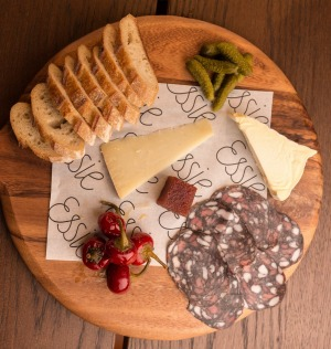 Cheese and charcuterie are on the menu at Essie Wine Bar.