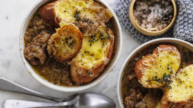 French onion beef stew.