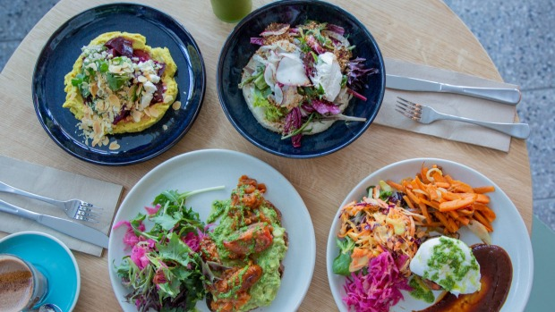 Egg's menu brims with healthy wholefoods dishes.