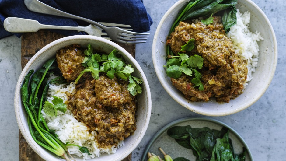 This simple curry is very adaptable.