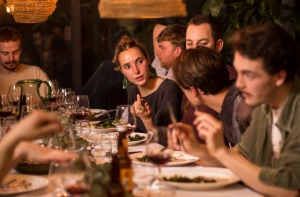 Photo shows a student dinner party as part of a 'Supper Club' Photo: Scott McNaughton / Fairfax Media