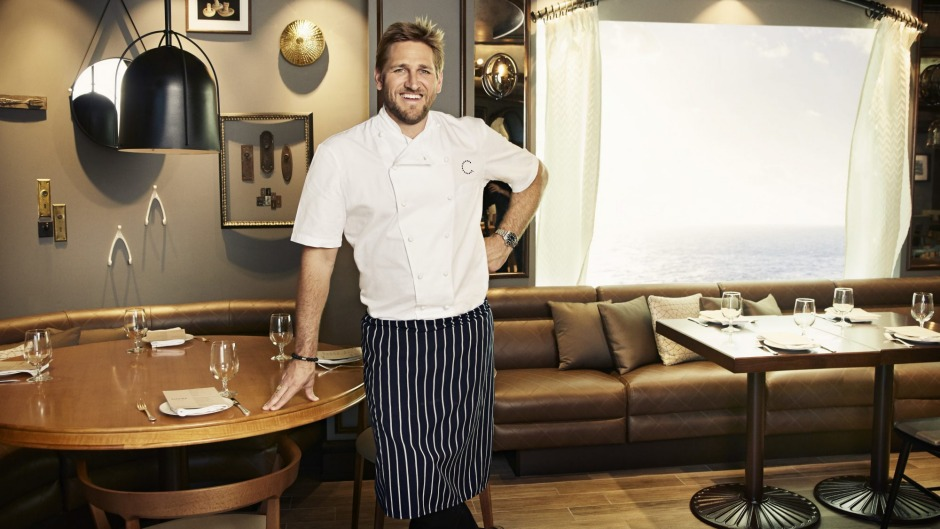 Curtis Stone's SHARE restaurants feature on three premium Princess Cruises liners.